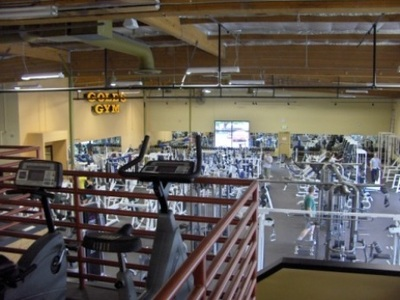 Gold's Gym - North Seattle, Upstairs View